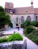 l'église sur la muraille,  Rottenburg