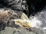 chute du canyon du rocher blanc