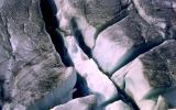 crevasse sans échelle