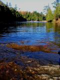les roches dans la rivière