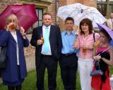 Aunty Janet Gant, Phil, Jimmy, Sue and Holly Ingram