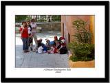 Kindergarten Children Listening to the Teacher
