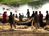 Fishermen at Lake Awasa