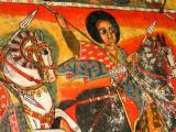 Fresco of St George