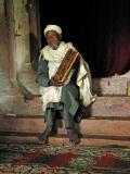 Priest in door of Holy of Holies
