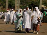 Religious ceremony in Aksum