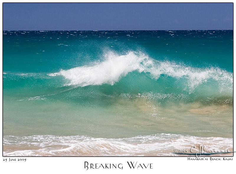 25Jun05 Breaking Wave