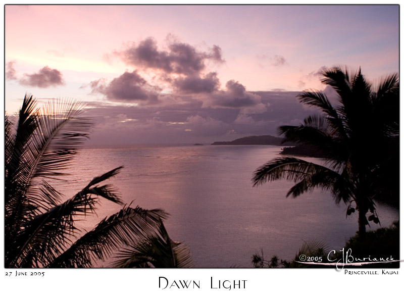 27Jun05 Dawn Light