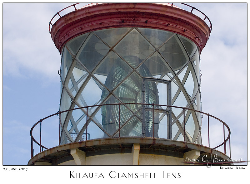 27Jun05 Kilauea Clamshell Lens