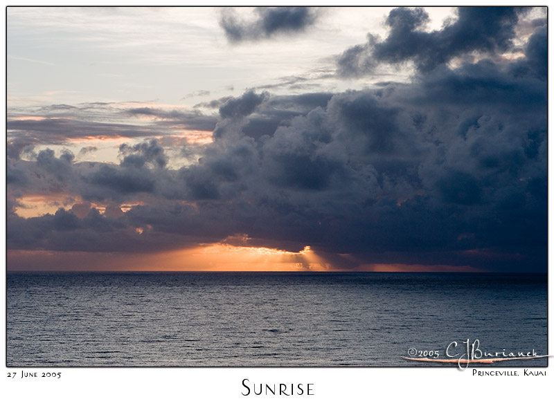 27Jun05 Sunrise