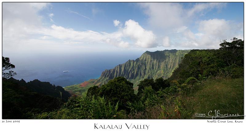 03July05 Kalalau Valley Panorama
