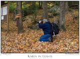 17Oct05 Karen in Leaves - 6333