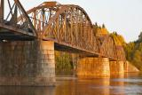 The old rail bridges at Gysinge