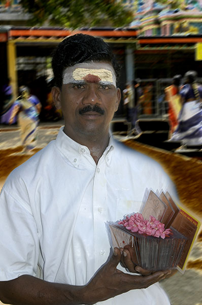 temple vendor, thanjavur
