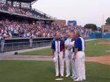 3420 Acclaim! Sings National Anthem for Tidewater Tides at Harbor Park in Norfolk, VA