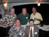Tom DeJonge, Robert Lewis, Darren Brewer, Jay Higgins, and Chris Wheeler