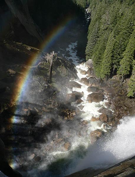 Vernal Falls From Top