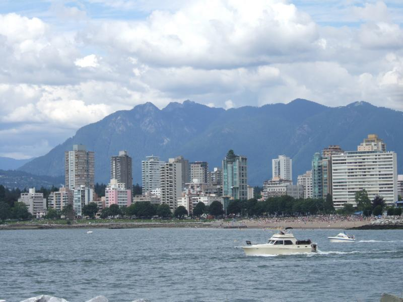 West End, from Vanier Park