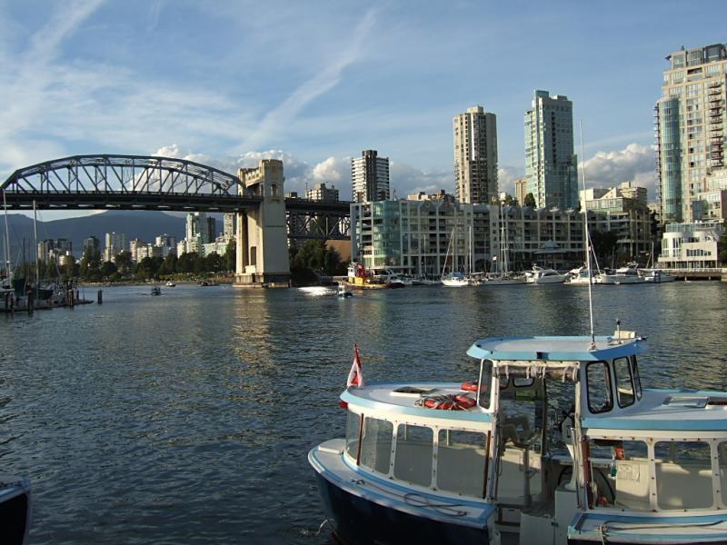 West End from Granville Island 1