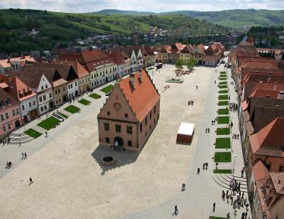 Bardejov - from the Cathedral tower