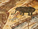 Humor Monastery - animals at the Last Judgement