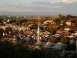 Plovdiv - evening view from Sahat Tepe