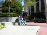 Tom and Shinta Downtown
