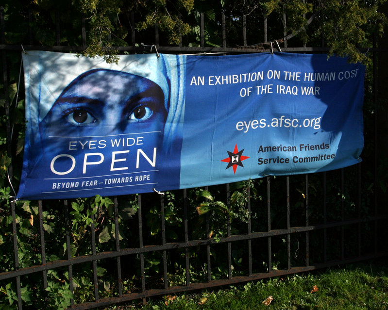Exhibition on the human cost of the Iraq War