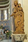Marie en bois d'olivier