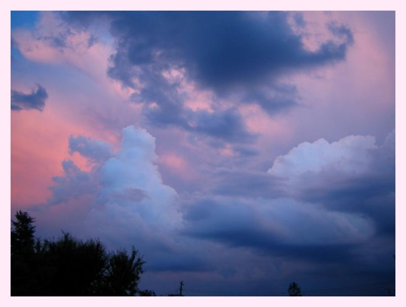 Evening Sun in Eastern Skies