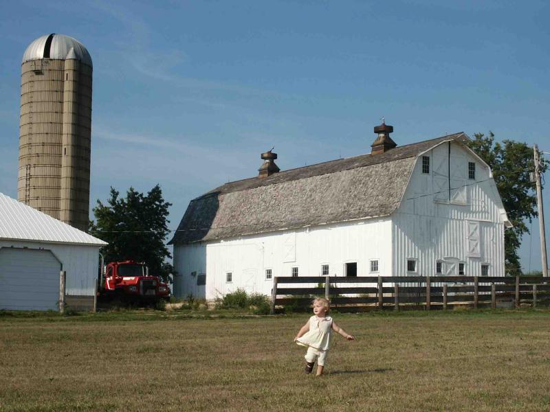 Lilli dances at the white barn.jpg
