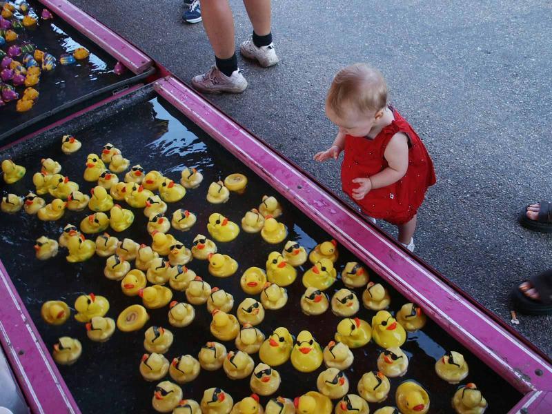 Lilli picks a duck.jpg