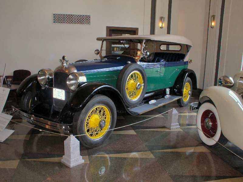 1926 Duesenberg Model A Phaeton