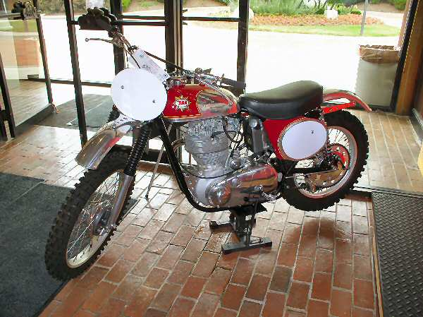 BSA at the entrance