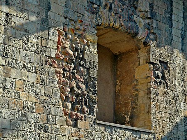 Prague: Interior Castle Wall