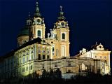 Melk (Austria): Benedictine Abbey by Night