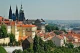 Prague: St Vitus Cathedral and the River