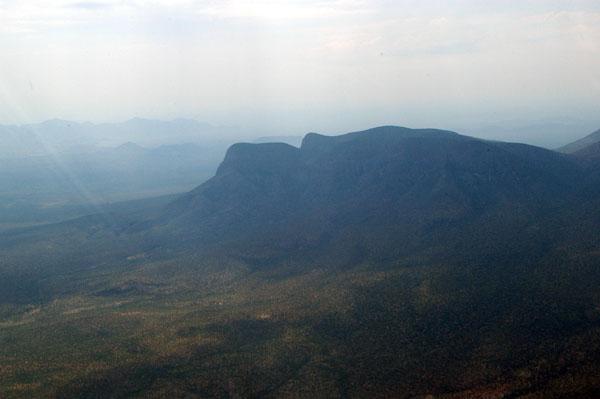 Leaving the flat lands of Etosha and Owomboland behind us, we enter mountainous terrain