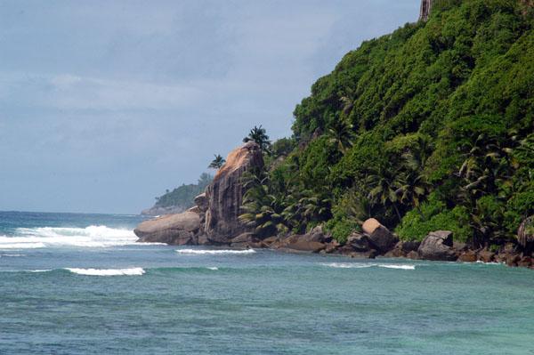 Southeast Coast of Mahé Island