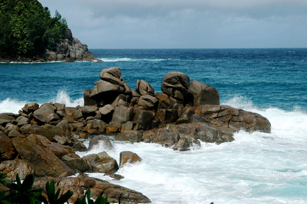 Anse Petite Police, near the southern tip of Mahé Island