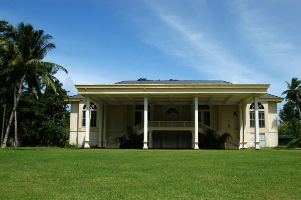 The old plantation house at the Plantation Club