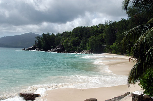 Anse Soleil, a remote cove on the west coast of Mahé