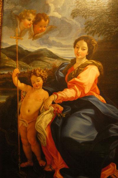 Madonna della Serpe, ca 1695, Giovanni Battista Gaulli (Baciccio) (1639-1709)
