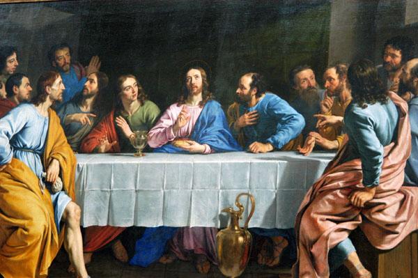 The Last Supper (La Cène) 1652,  Philippe de Champaigne (1602-1674)