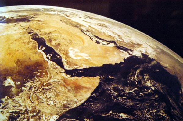 The Arabian Peninsula and Horn of Africa from space, Fujairah Museum