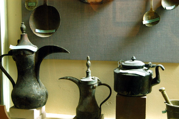 Old coffee pots, Fujairah Museum