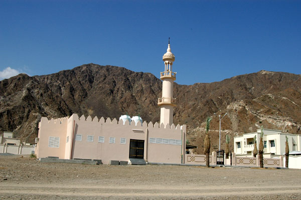 A small mosque on the East Coast