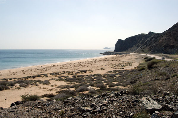Gulf of Oman,east coast of the UAE