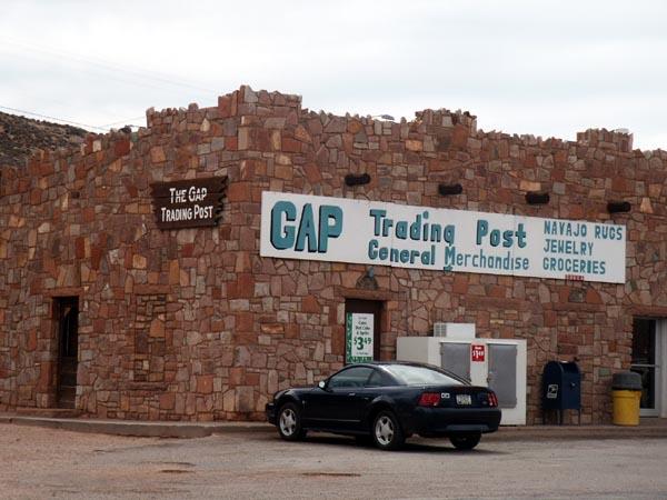 The Gap Trading Post, Navajo Reservation, Arizona