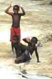 Boys near the camp
